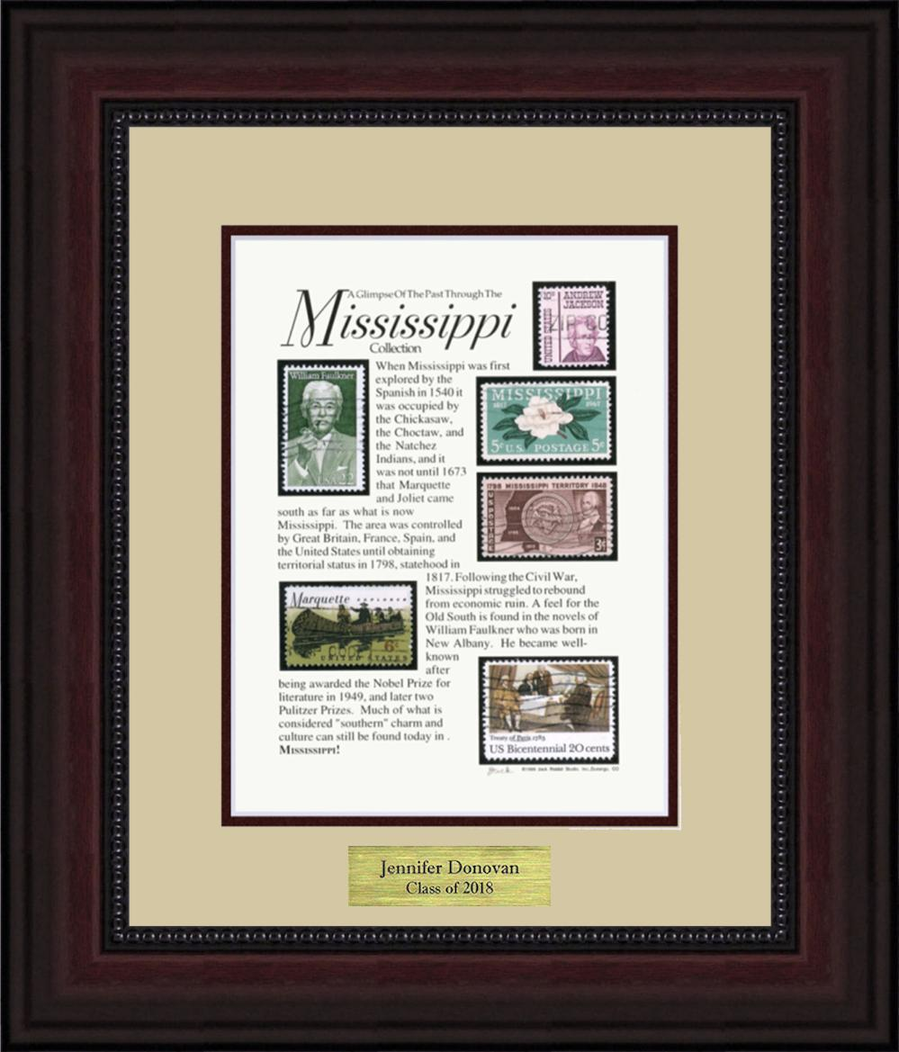 MISSISSIPPI - Personalized Unique Framed Gift