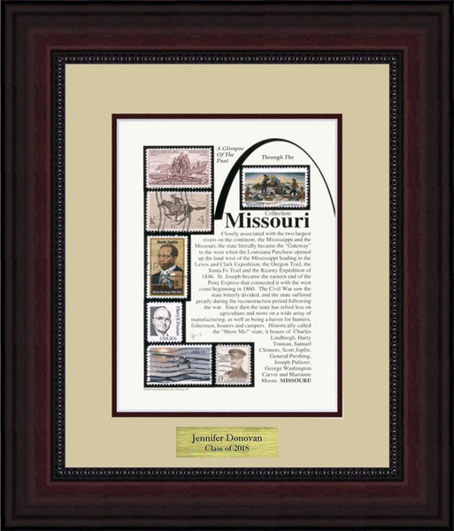 MISSOURI - Personalized Unique Framed Gift