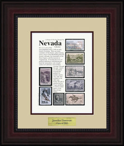 NEVADA - Personalized Unique Framed Gift