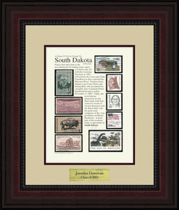 SOUTH DAKOTA - Personalized Unique Framed Gift