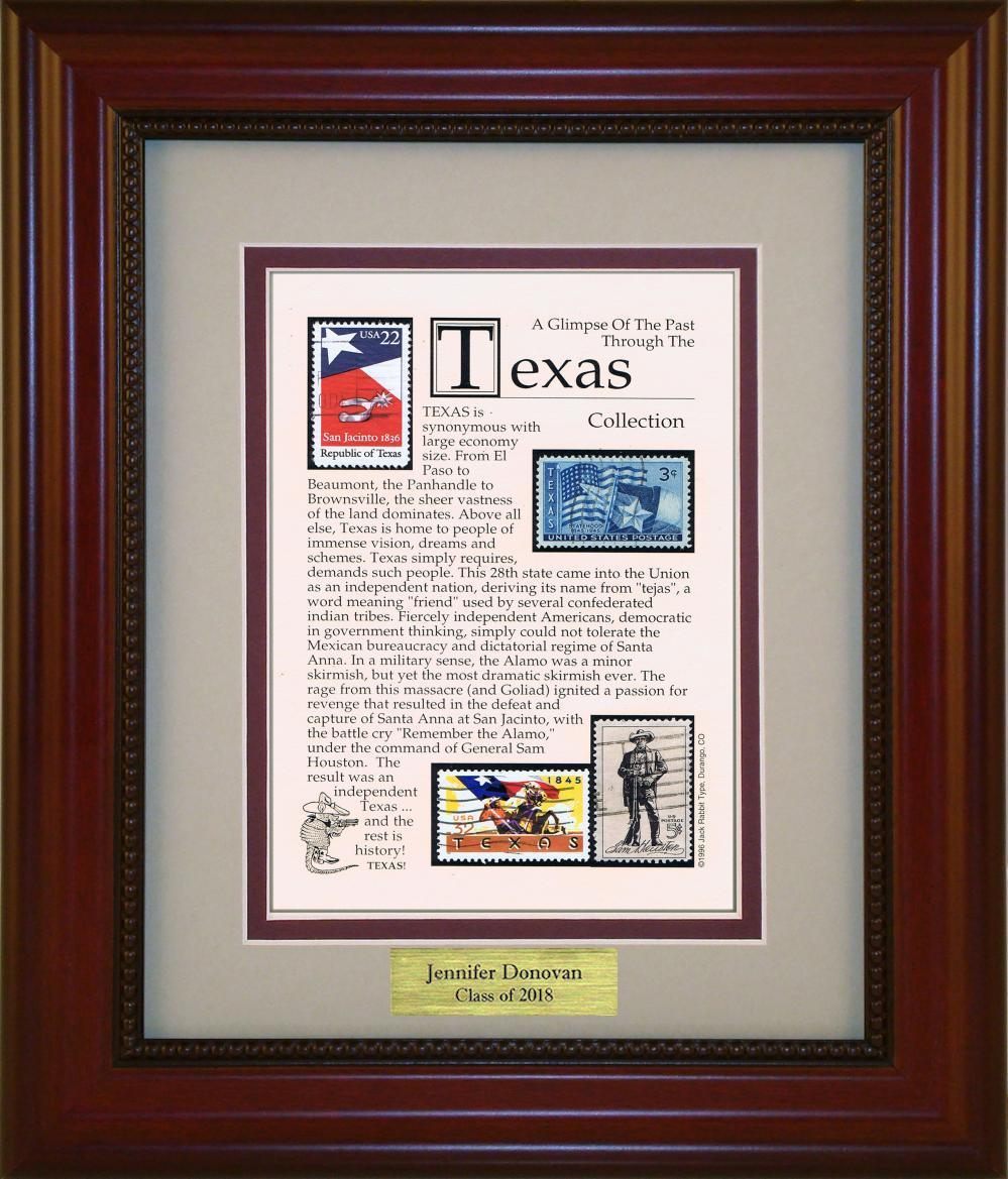 TEXAS - Personalized Unique Framed Gift