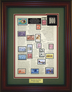 Year 1900 - Personalized Unique Framed Gift