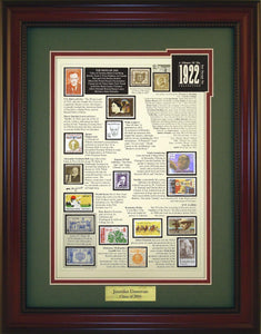 Year 1922 - Personalized Unique Framed Gift