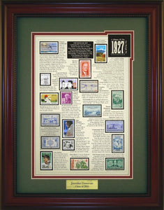 Year 1927 - Personalized Unique Framed Gift