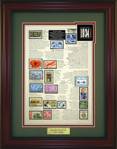 Year 1934 - Personalized Unique Framed Gift