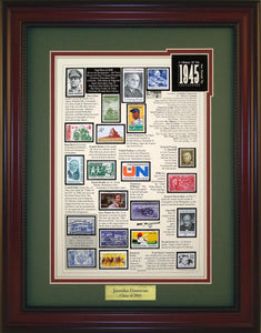 Year 1945 - Personalized Unique Framed Gift