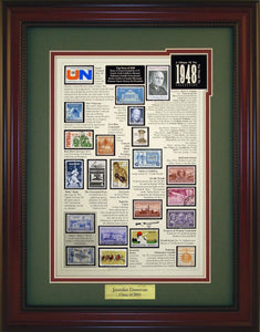 Year 1948 - Personalized Unique Framed Gift