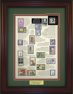 Year 1953 - Personalized Unique Framed Gift
