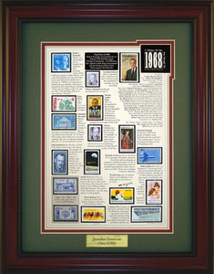 Year 1968 - Personalized Unique Framed Gift