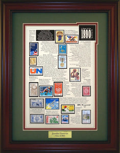 Year 1990 - Personalized Unique Framed Gift