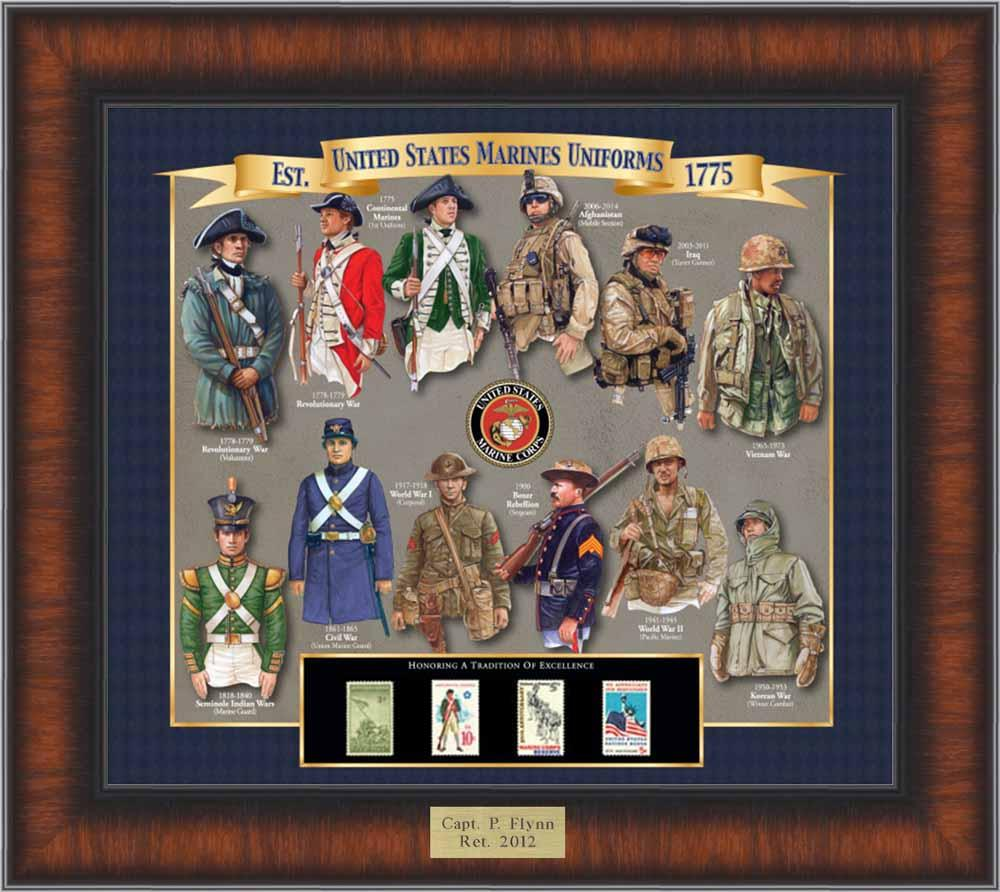 Marines Uniform History