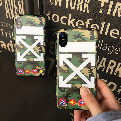 Off-White Camo Phone Case - Krispy Soles