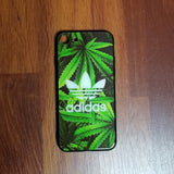Adidas Good Green Glass Case - Krispy Soles