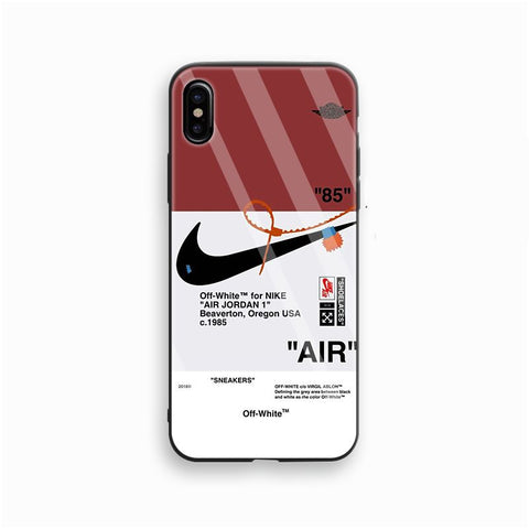 Offwhite 85 Nike Red Glass Case - Krispy Soles