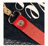 Sup Leather Strap Keychain - Krispy Soles