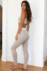 REBORN Mink High Waisted Leggings Set