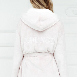 Pink So Soft Luxury Dressing Gown