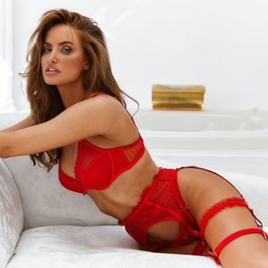 Ruby Red Intimates Set