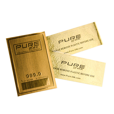 Luxury Rolling Papers | 24K Gold