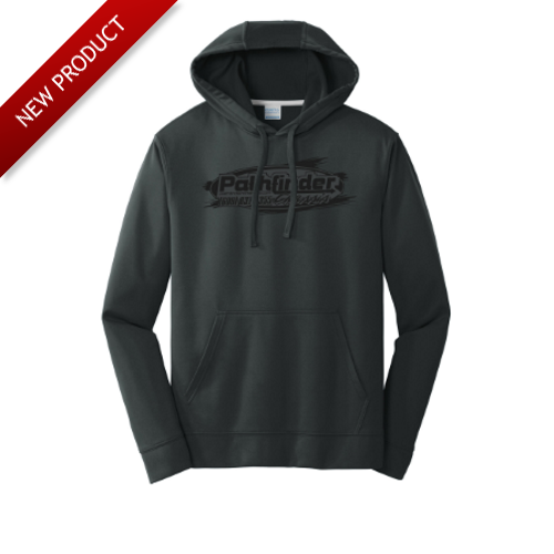 Pathfinder - Sweatshirt - Black (Grey Logo)