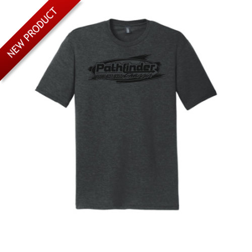 Pathfinder - T-Shirt - Black (Grey Logo)