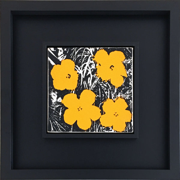 Andy Warhol 8-inch Flowers