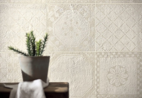 Evoke 8x8 pattern mix in neutral from Tierra Sol