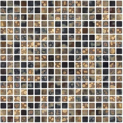 GRN-503 porcelain square mosaic full sheet.