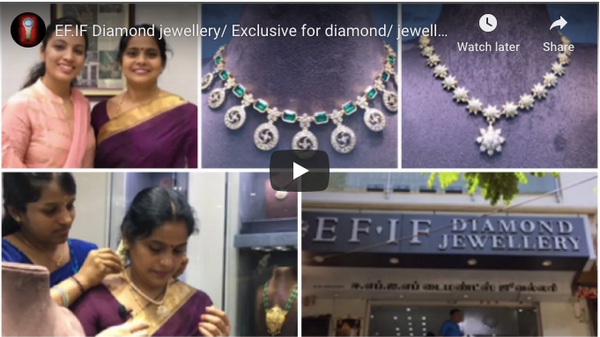 EF.IF Diamond jewellery/ Exclusive for diamond/ jewellery Vlog