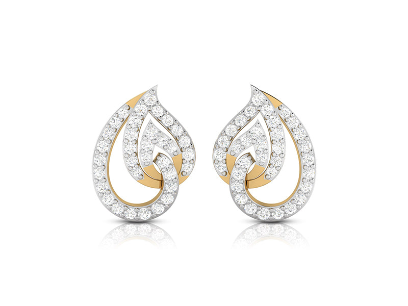 Enchanting Pear Studs