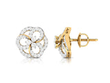 Diamond Floret Stud