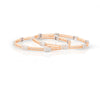 Eclectic Ultra Light Weight Diamond Bangle