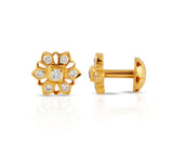 The Mridula Closed Setting 22k Diamond Stud