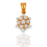 Evergreen Bliss Yellow Gold Diamond Pendant