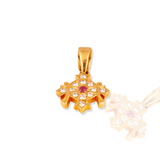 Divine Traditional Diamond Pendant
