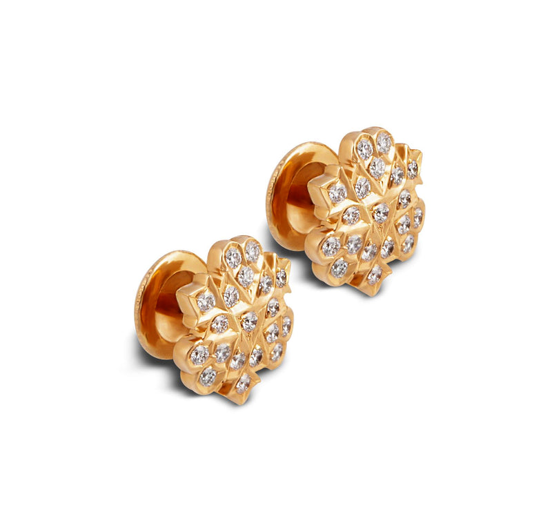 The Indumukhi Closed Setting 22k Diamond Stud