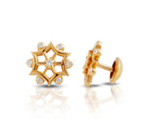 The Nakshatra Closed Setting 22k Diamond Stud
