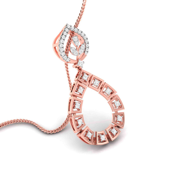 Gorgeous Rose Gold Pendant