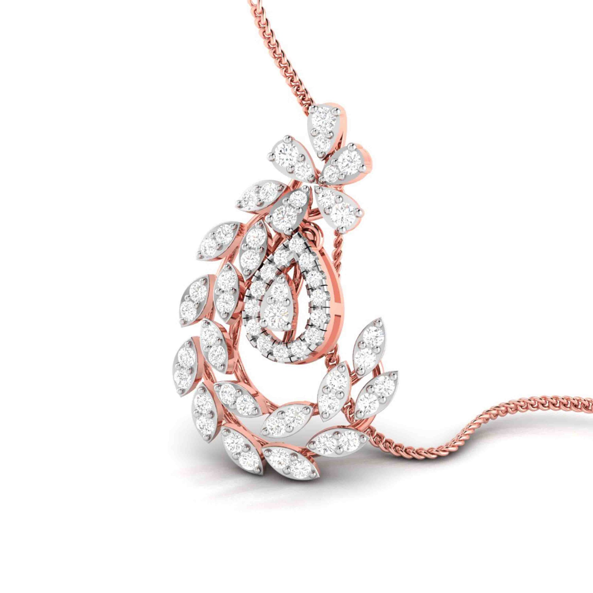 Regal Diamond Pendant