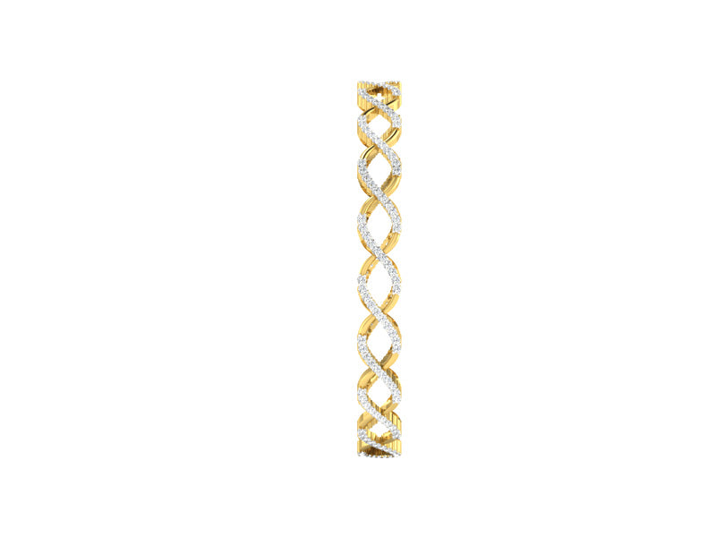 TRENDY TWISTED BANGLE