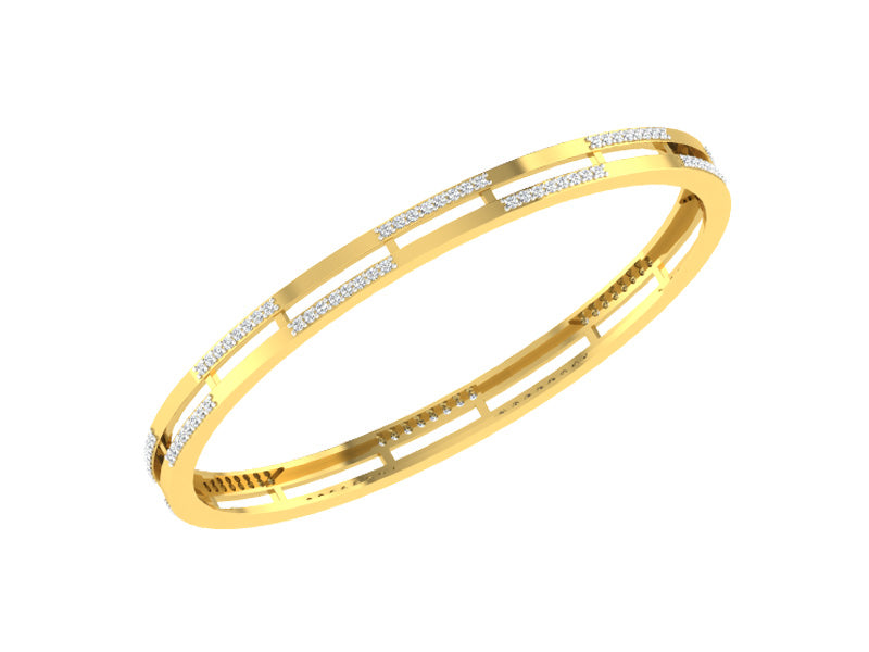 CLASSIC TWO LINE BANGLE