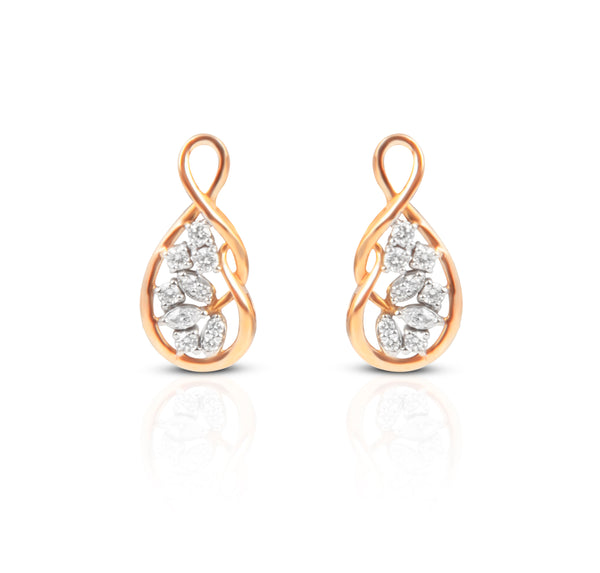 The Siya 18k Diamond Studs