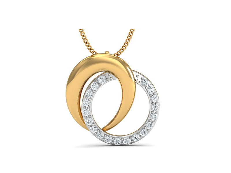 Awestruck Twin Circle Pendant