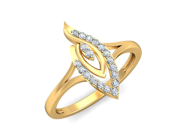 Majestic Flame Ring