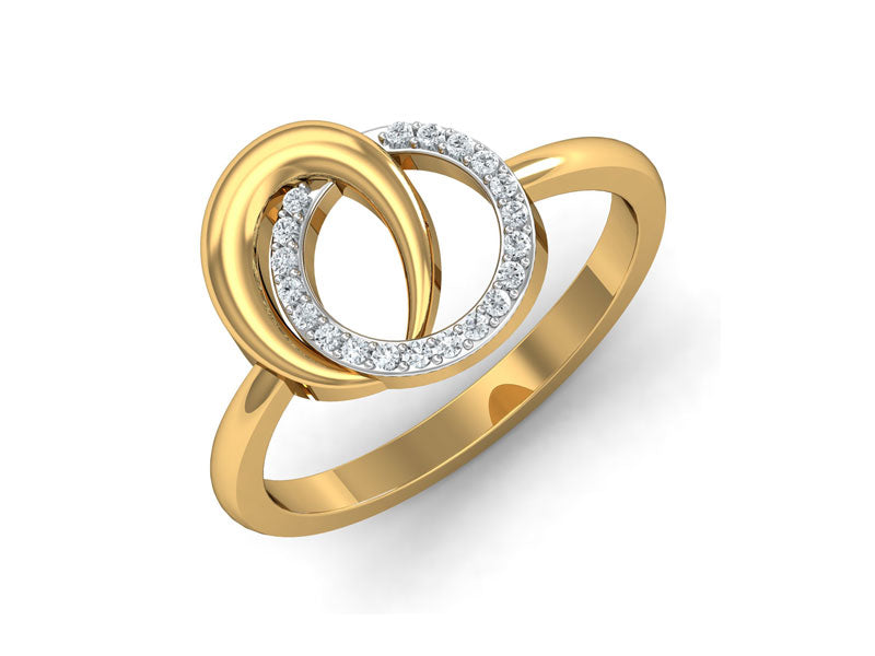 Classic Twin Circle Ring