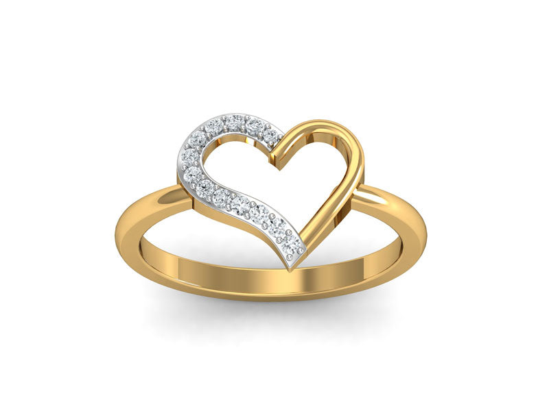 Charming Hearty Ring