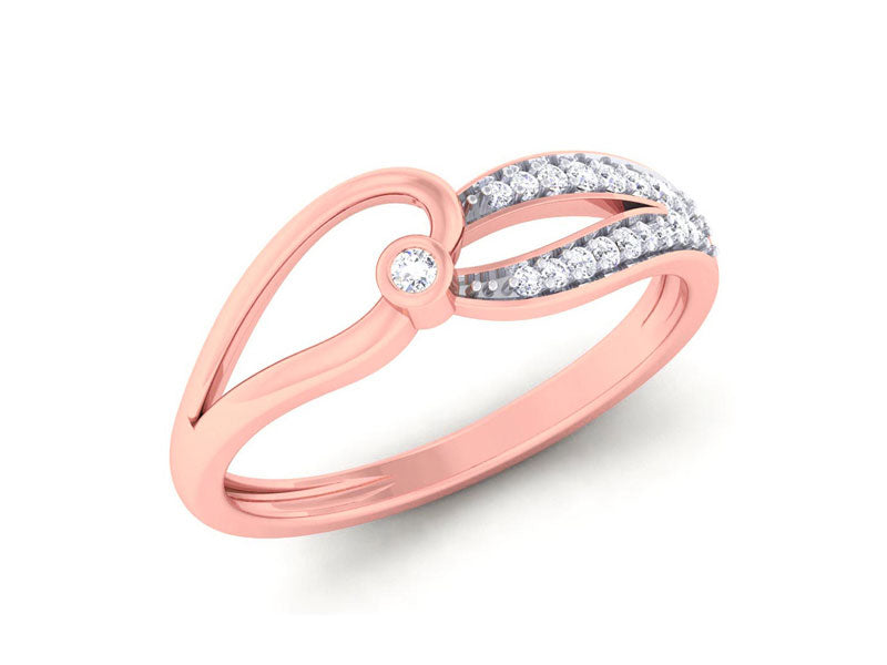 Elegant Intertwined Ring