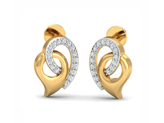 Entwined Inverted Drop Studs