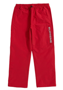 Supreme Heavy Nylon Pant Red UNDER RETAIL!