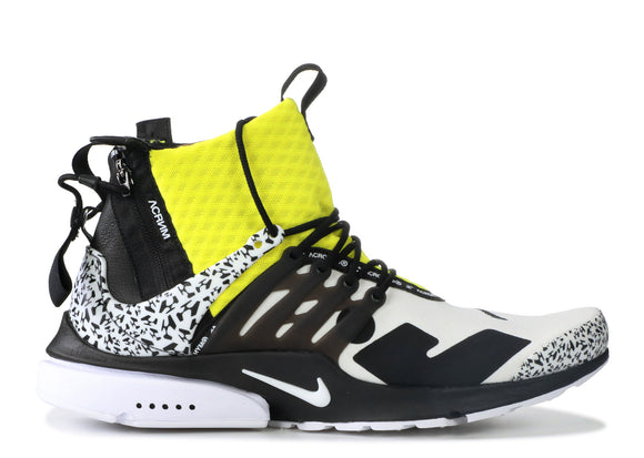 Air Presto Mid Acronym Dynamic Yellow UNDER RETAIL!!